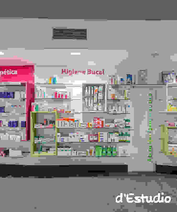 Farmacia Mayor Xirivella | Panelado Comercial Espacios comerciales de estilo moderno de Destudio Arquitectura Moderno