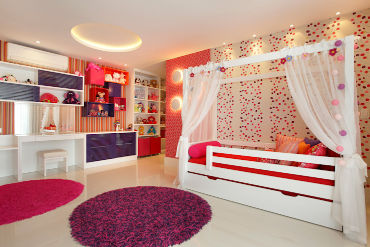 Nursery/kid's room by Arquitetura e Interior, Modern