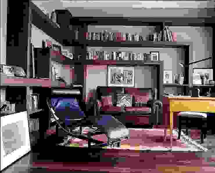 Квартира на Никитской Рабочий кабинет в стиле модерн от ANIMA Модерн