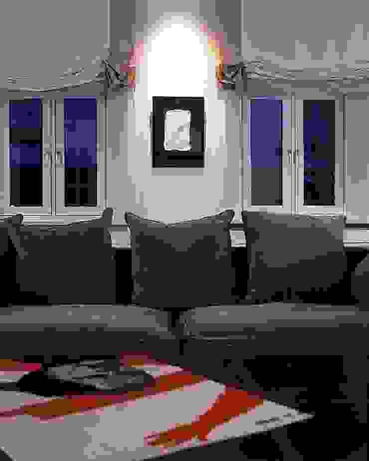 Квартира на Никитской Гостиная в стиле модерн от ANIMA Модерн