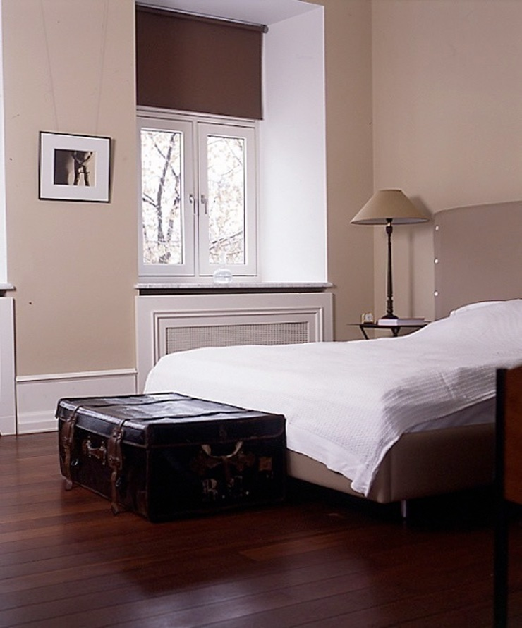 Квартира на Никитской Спальня в эклектичном стиле от ANIMA Эклектичный