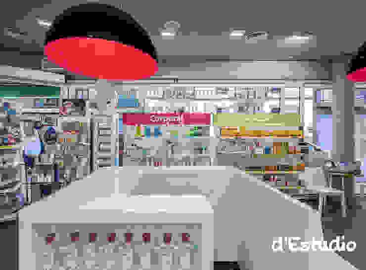 Farmacia Mayor Xirivella | Caja Rápida Espacios comerciales de estilo moderno de Destudio Arquitectura Moderno