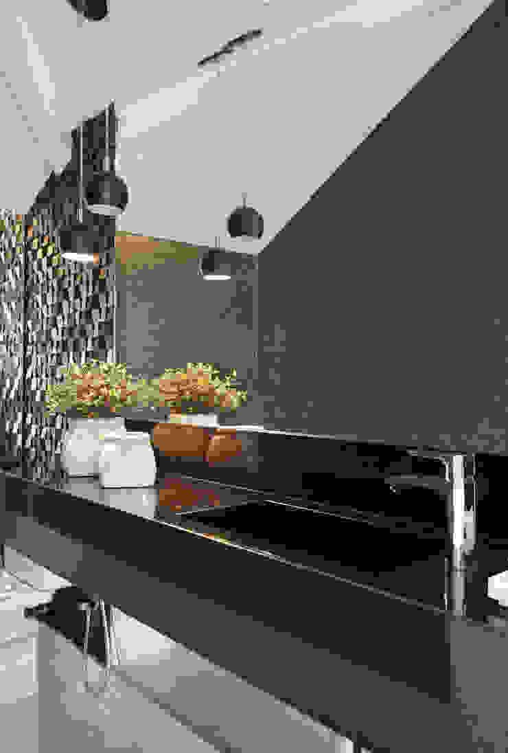 Lavabo Studio Claudia Pimenta e Patricia Franco Decoração de Interiores Banheiros modernos
