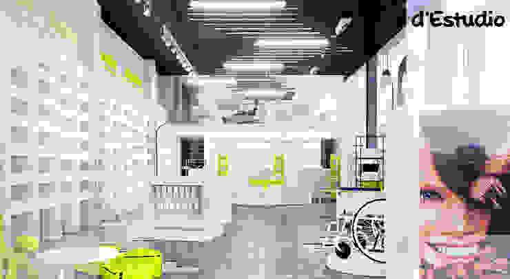 Farmacia en el Centro Comercial La Almazara (S. Vicente del Raspeig) | Vista General Centros comerciales de estilo moderno de Destudio Arquitectura Moderno