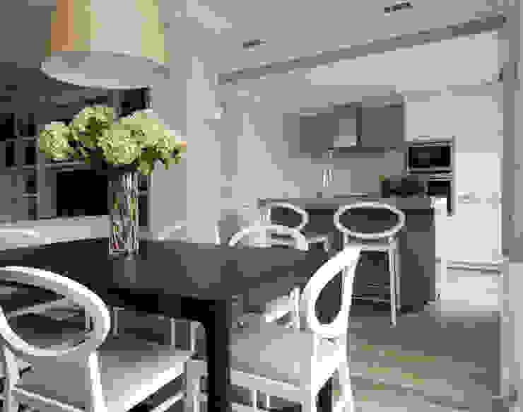 Sube Susaeta Interiorismo y Sube Contract diseño interior de casa con terraza Cocinas de estilo clásico de Sube Susaeta Interiorismo Clásico