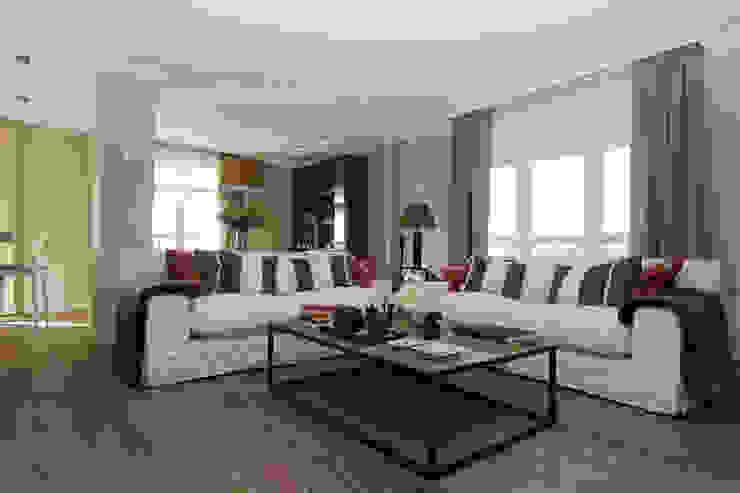 Sube Susaeta Interiorismo y Sube Contract diseño interior de casa con terraza Salones de estilo clásico de Sube Susaeta Interiorismo Clásico