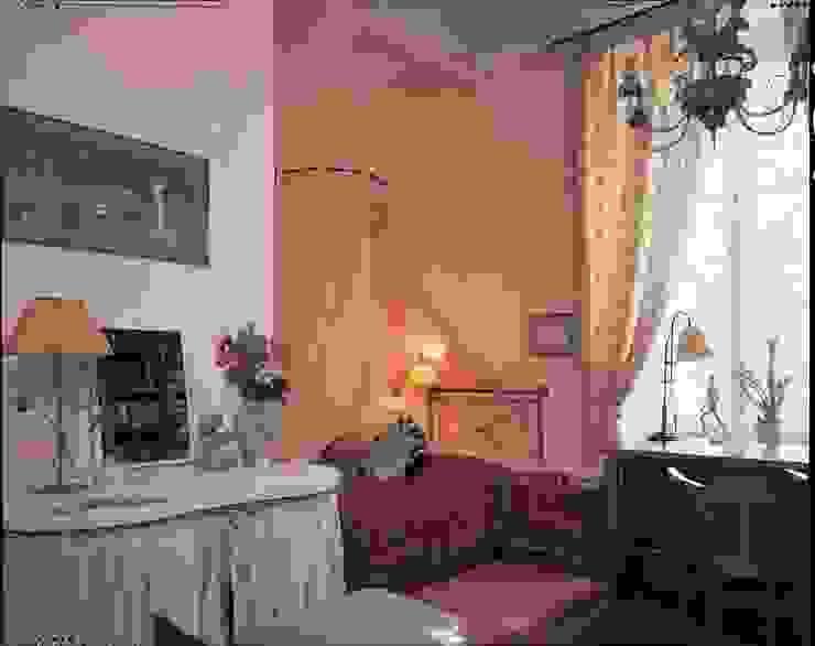 Квартира на Патриарших Детские комната в эклектичном стиле от ANIMA Эклектичный