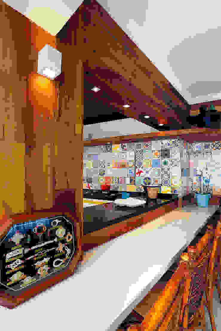 Espaço Goumert Cozinhas tropicais por Mayra Lopes Arquitetura | Interiores Tropical