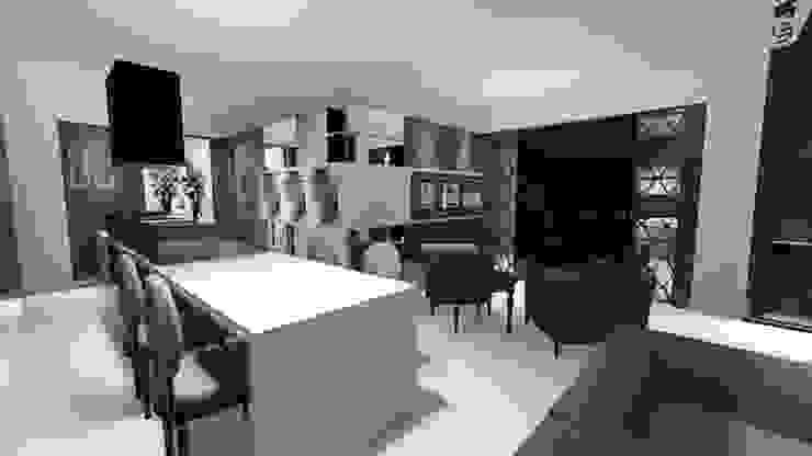 CANiSiObeecKnewhome escritorio por Canisio Beeck Arquiteto Moderno