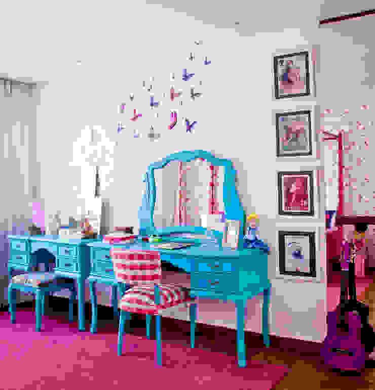 CARMELLO ARQUITETURA ห้องนอนเด็กตู้เสื้อผ้า