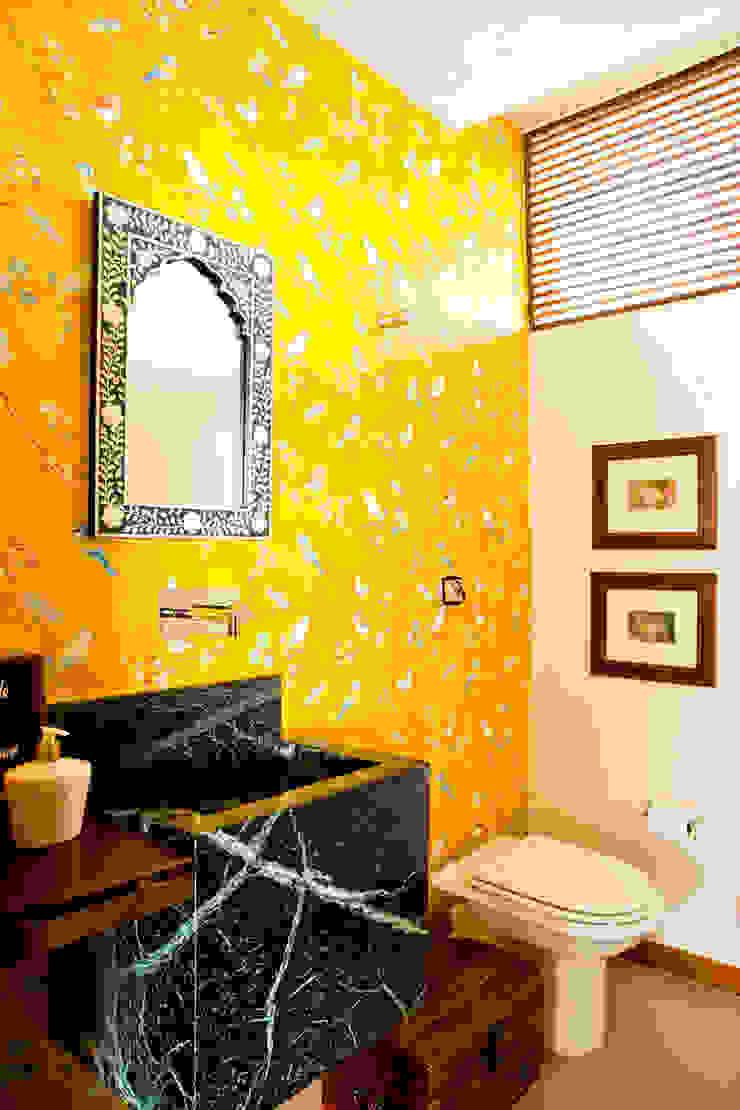CARMELLO ARQUITETURA ห้องน้ำของตกแต่ง