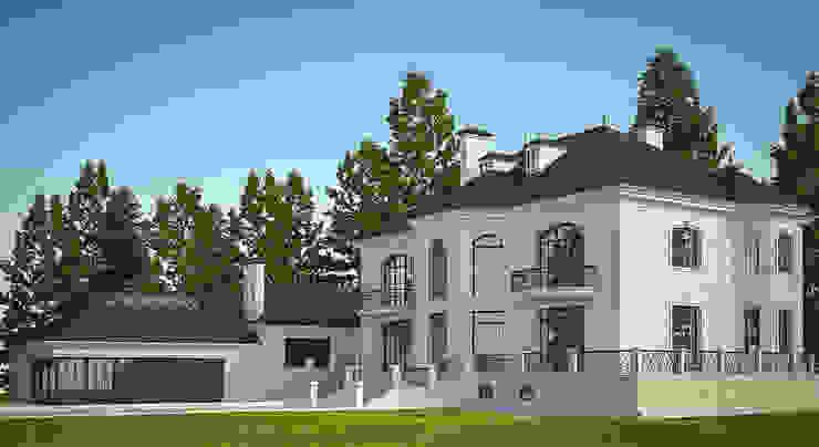 Частный дом на 800м2 от Архитектурная студия Классический