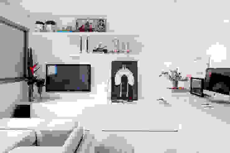 Oficinas de estilo minimalista de Helô Marques Associados Minimalista