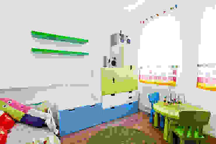 Lidia Saradが手掛けた子供部屋, モダン