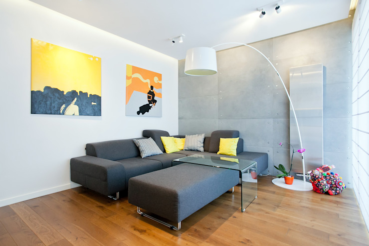 Salones minimalistas de Lidia Sarad Minimalista