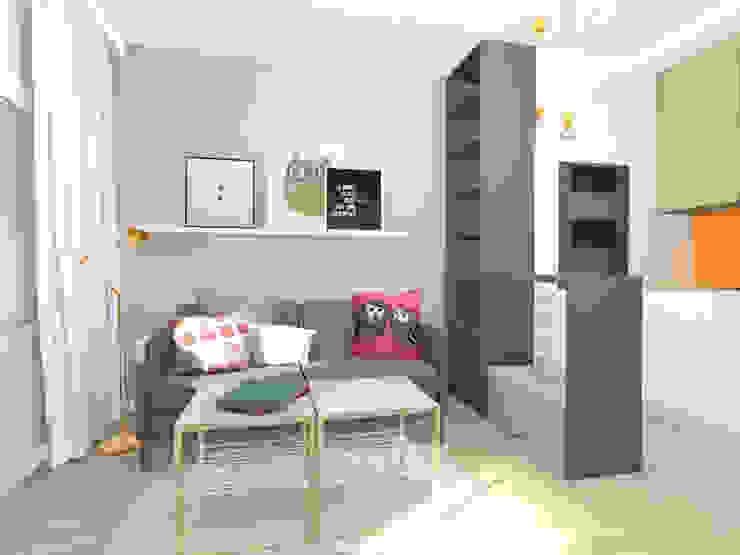 Modern Living Room by Lidia Sarad Modern