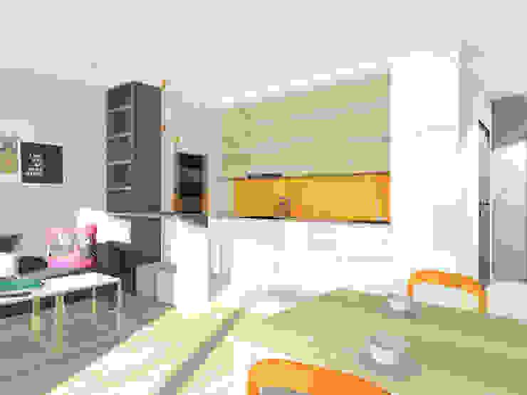 Modern Kitchen by Lidia Sarad Modern