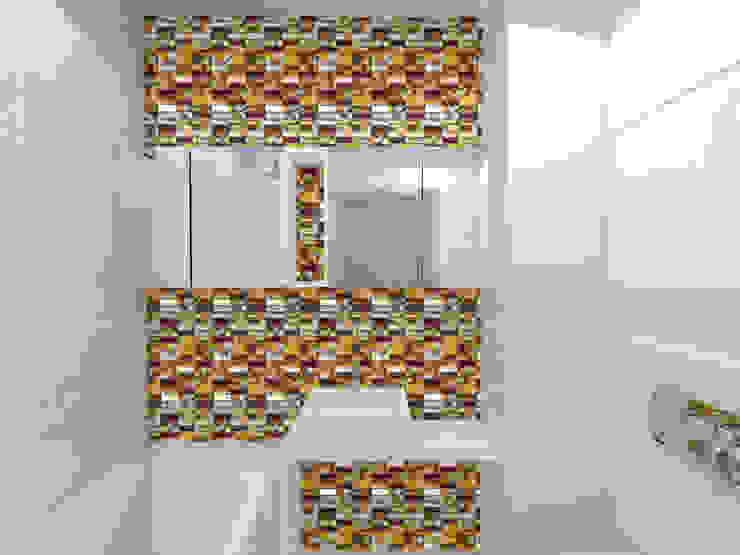 Modern Bathroom by Lidia Sarad Modern