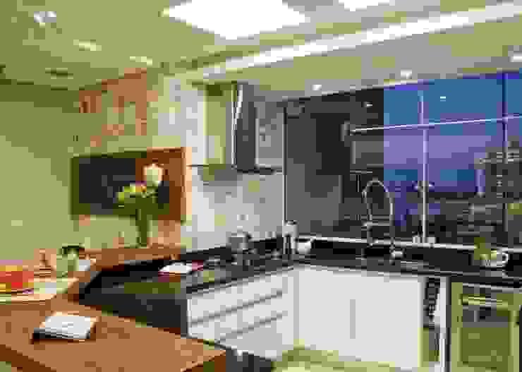 Cocinas de estilo moderno de Tania Bertolucci de Souza | Arquitetos Associados Moderno
