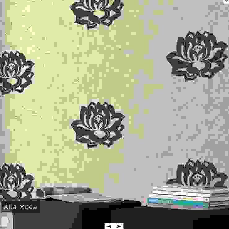Mediterranean walls & floors by Cici Evim ithal duvar kağıtları Mediterranean