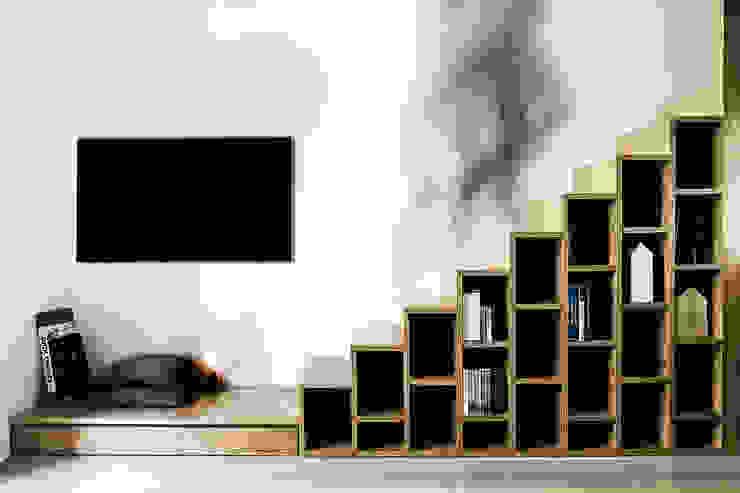 Casa 40 Soggiorno moderno di Studio Tenca & Associati Moderno