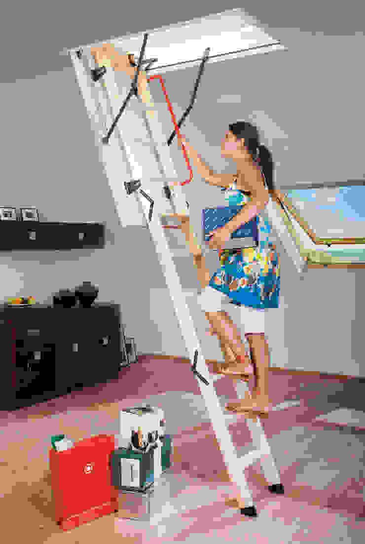 Katlanır çatı merdivenleri Sena Mimarlık Akustik San. tic. Rustik