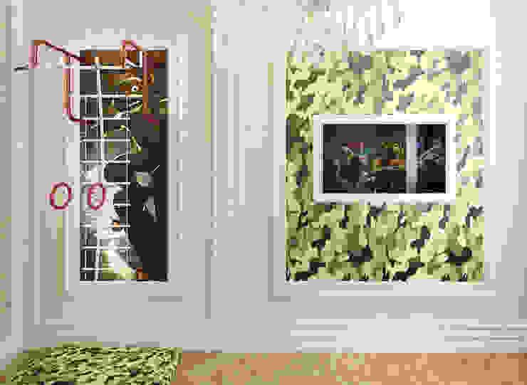 Воздушный интерьер в доме исторического наследия Детская комнатa в классическом стиле от Дизайн-бюро Анны Шаркуновой 'East-West' Классический