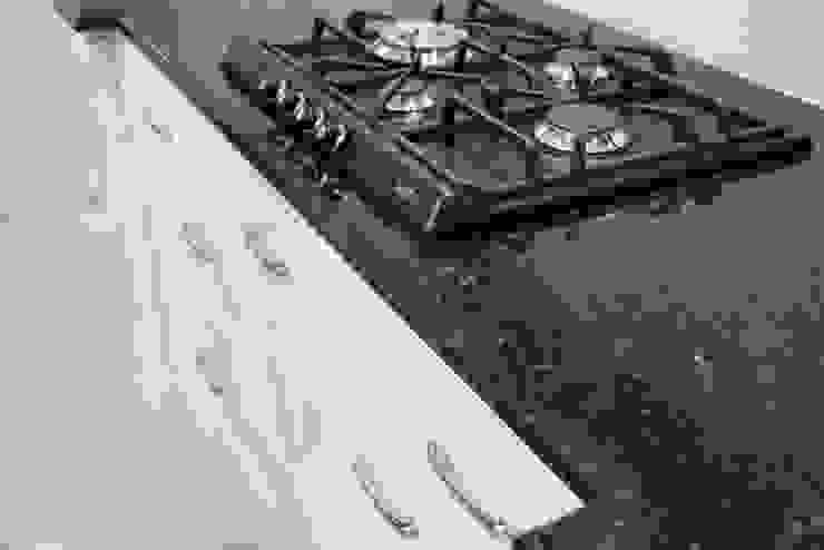 Blat granitowy Verde Ubatuba Klasyczna kuchnia od GRANMAR Borowa Góra - granit, marmur, konglomerat kwarcowy Klasyczny