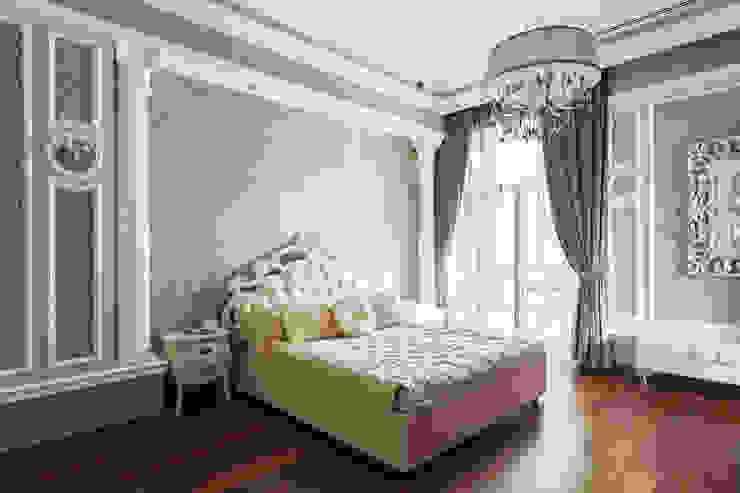 Резиденция в Горках 8 Спальня в классическом стиле от дизайн-студия ZE-MOOV Классический