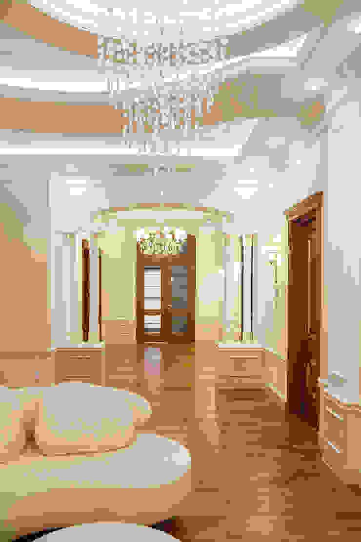 Резиденция в Горках 8 Коридор, прихожая и лестница в классическом стиле от дизайн-студия ZE-MOOV Классический
