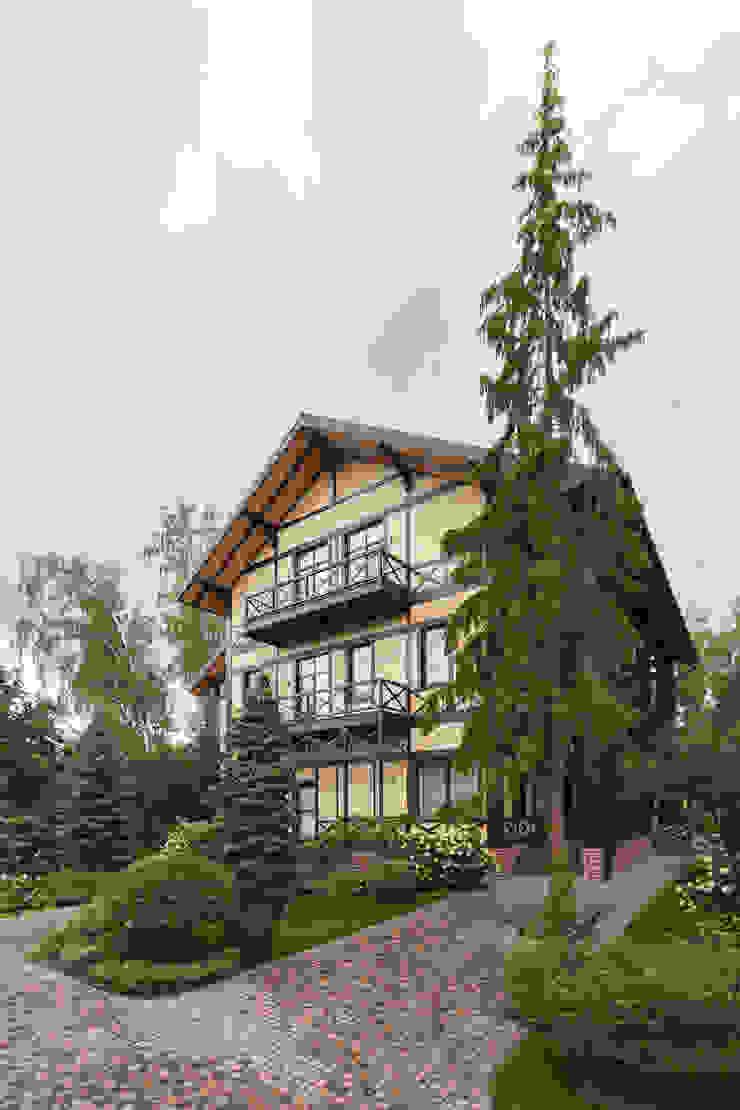 Резиденция в Горках 8 Дома в классическом стиле от дизайн-студия ZE-MOOV Классический