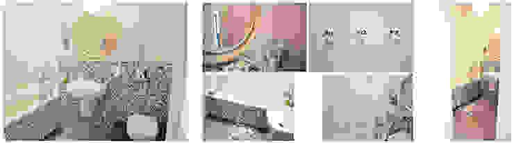 PRIVATE APARTAMENT 02 Eklektyczna łazienka od PUFF Eklektyczny