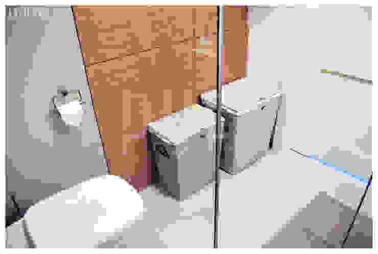 PRIVATE APARTAMENT 03 Eklektyczna łazienka od PUFF Eklektyczny