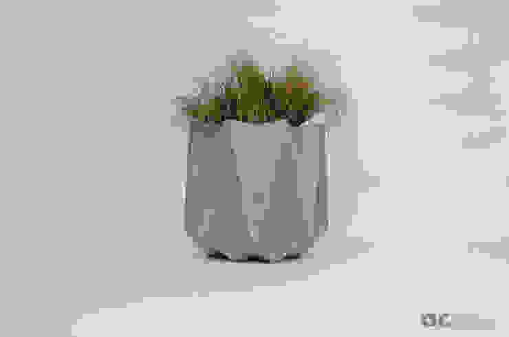 Kronen 65 Planter In Warm Grey Concrete Adam Christopher Design Garden Plant pots & vases