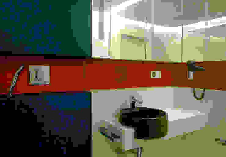 Apartament Waterlane Gdańsk Nowoczesna łazienka od Ostańska design Nowoczesny