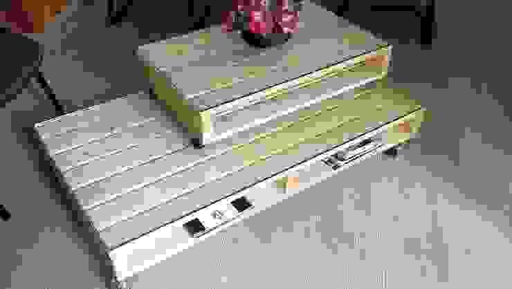 Garden Mobilya – Garden Palet Sehpa: modern tarz , Modern