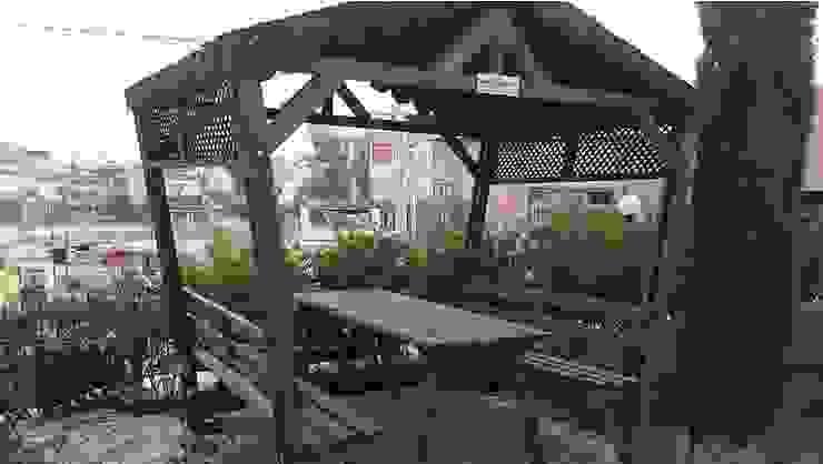Garden Mobilya – Kamelyalı Piknik Masaları: modern tarz , Modern