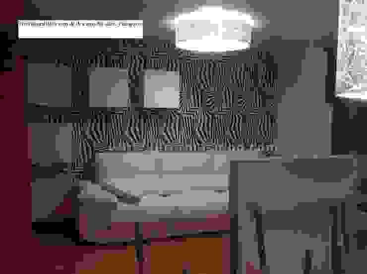 Un salón con lucernario muy personal. Salones de estilo moderno de METODO ORIGINAL DECOR (Reformas MOD) Moderno