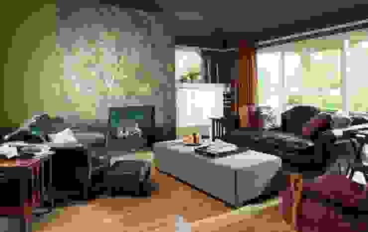 Livings de estilo moderno de 4 Duvar İthal Duvar Kağıtları & Parke Moderno