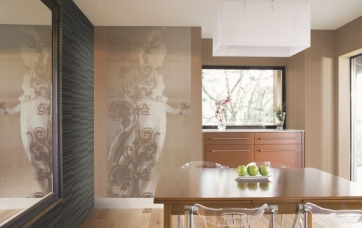 Uygulamalar Modern Mutfak 4 Duvar İthal Duvar Kağıtları & Parke Modern
