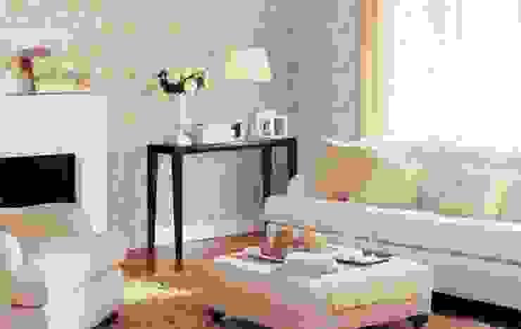 Salones de estilo  de 4 Duvar İthal Duvar Kağıtları & Parke,
