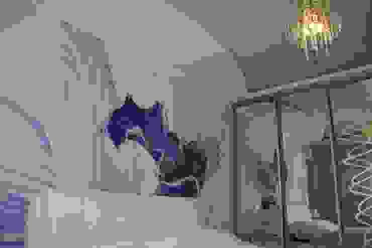 Modern style bedroom by Студия интерьерного дизайна happy.design Modern