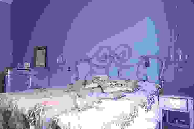 Нескучный серый Спальня в эклектичном стиле от PichuginaDesign Эклектичный