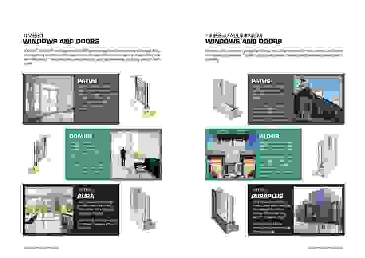 Windows & Doors Building With Frames Minimalist houses
