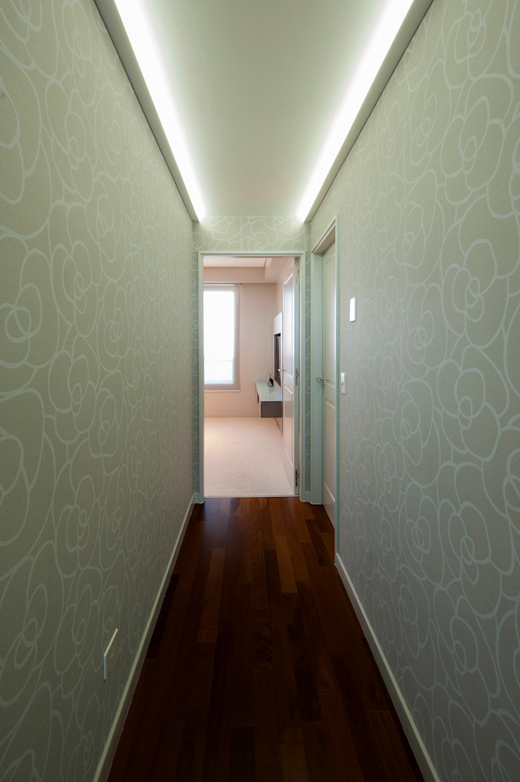 Estudio Sespede Arquitectos Corridor, hallway & stairs Accessories & decoration