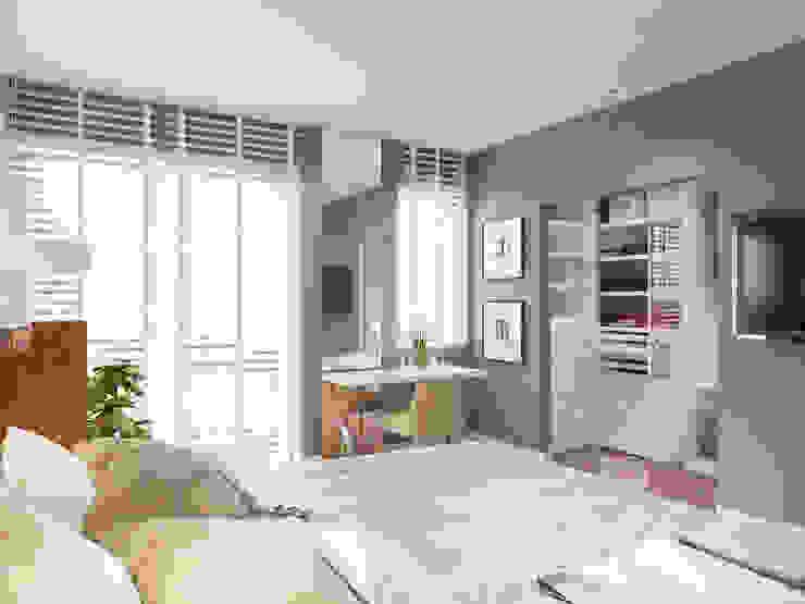 Modern style bedroom by Finchstudio Modern