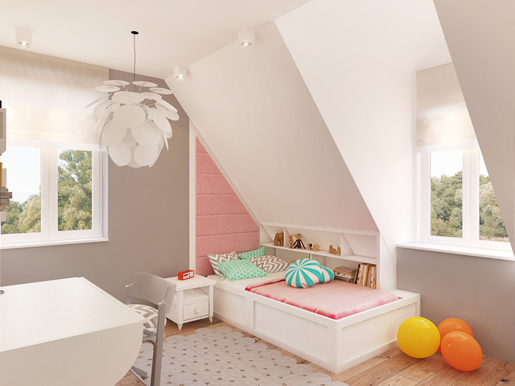 Nursery/kid's room by Finchstudio, Scandinavian