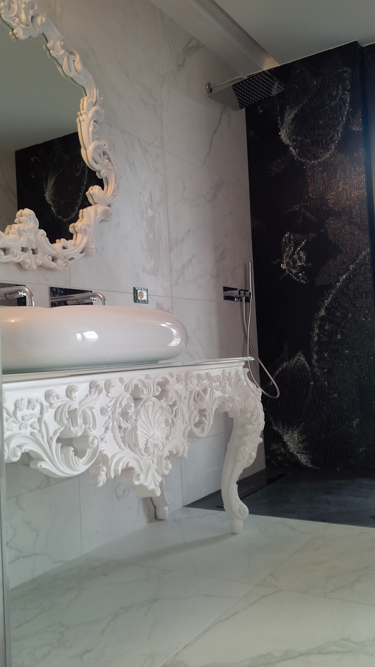 Klasyczna łazienka od IL BAGNO Klasyczny