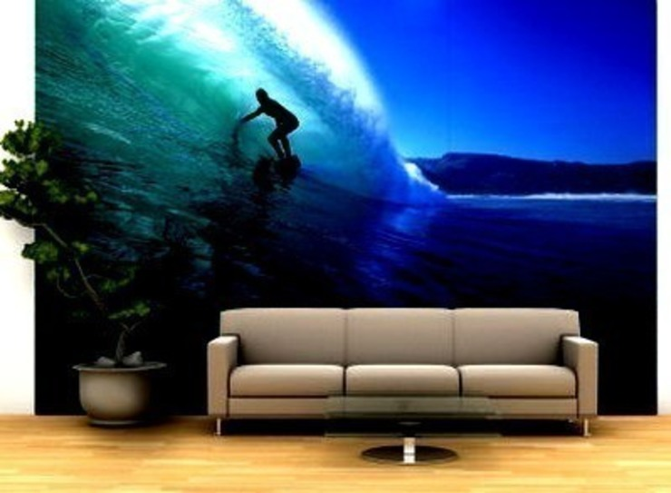 Beach Wall Murals Banner Buzz Interior landscaping