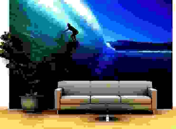Beach Wall Murals de Banner Buzz Moderno